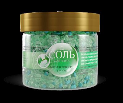 Соль для ванн «Антицеллюлит De-tox»