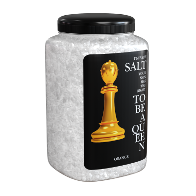 Соль морская природная Апельсин