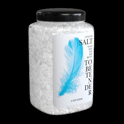 Соль морская природная Лаванда